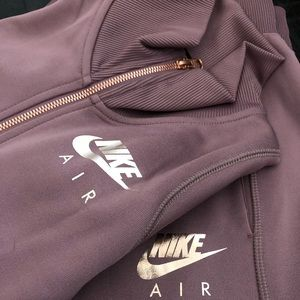 Nike Rose Gold Tracksuit